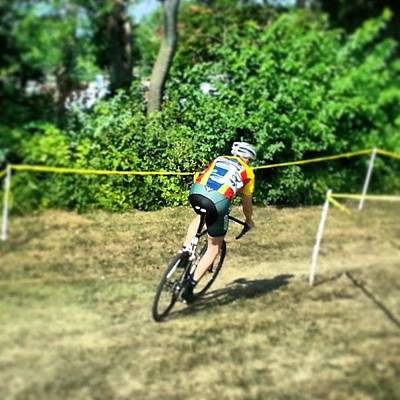 Photograph - @doug Bauer #relaycross by Lauri Novak