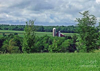 Photograph - Dougherty's Barn by Christian Mattison