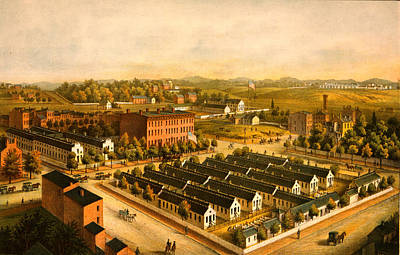 Washington D.c Drawing - Douglas & Stanton Hospitals, Washington,d.c by Litz Collection