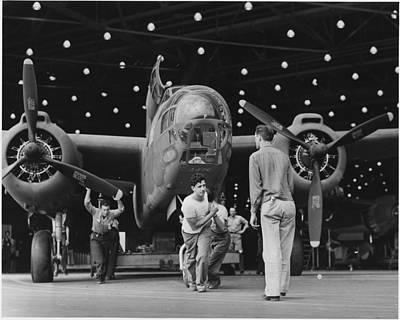 Long Beach Ca Photograph - Douglas A20 Bomber by Georgia Fowler