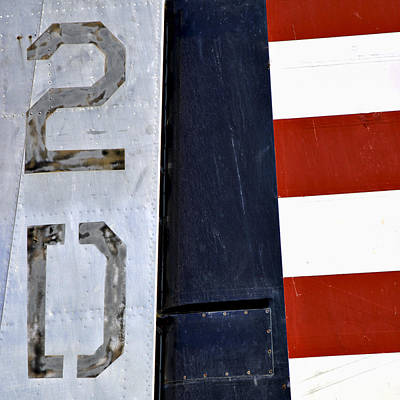 Bold Photograph - Douglas B-23 Dragon by Carol Leigh