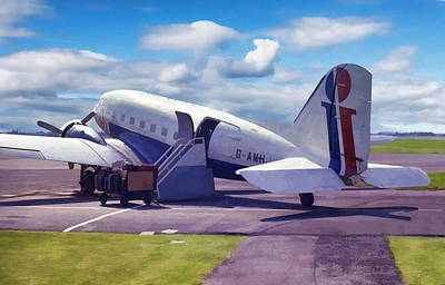 Photograph - Douglas Dakota Dc3 by Paul Gulliver