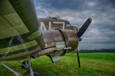 Photograph - Douglas Dc3 C-47 W7  by Guy Whiteley