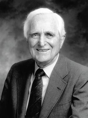 Douglas Engelbart Art Print by Emilio Segre Visual Archives/american Institute Of Physics