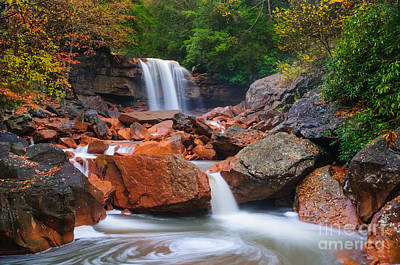 Douglas Falls D30012648 Art Print