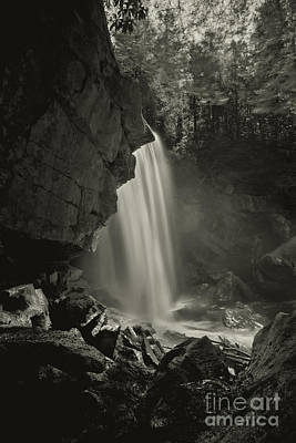 Photograph - Douglas Falls On North Fork River Near Thomas Wv by Dan Friend