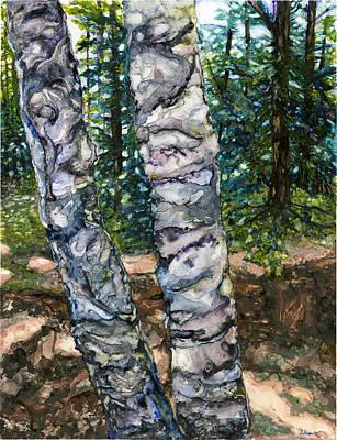 Western Art - Douglas Hill by Suzanne Stewart