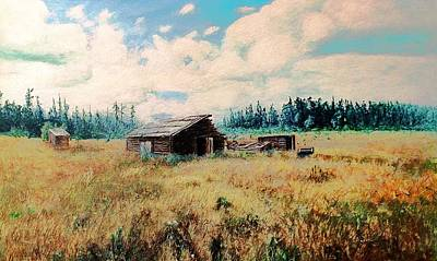 Douglas Lake Ranch  Art Print