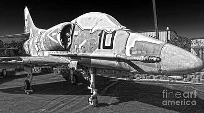 Photograph - Douglas Skyhawk A-4f by Gregory Dyer