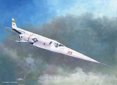Painting - Douglas X-3 by Douglas Castleman