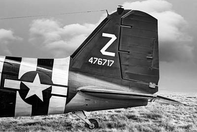 Photograph - Douglass C-47 Skytrain Tail Section - Dakota by Gary Heller