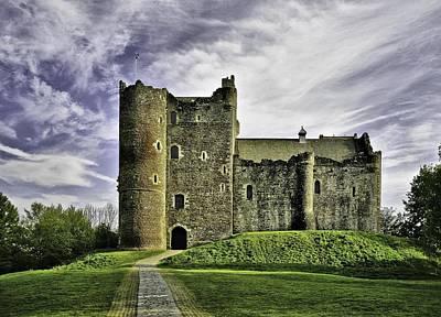 Doune Castle Art Print by Buster Brown