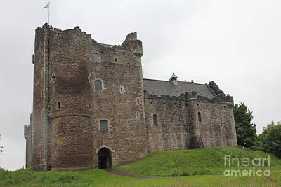 Photograph - Doune Castle by David Grant