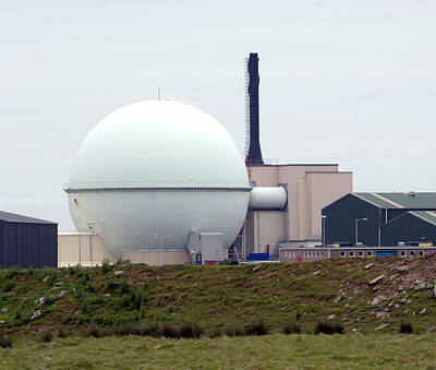 Breeder Photograph - Dounreay Nuclear Reactor by Public Health England