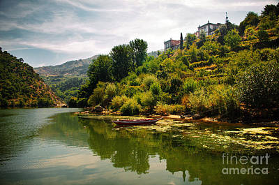 Vineyards Photograph - Douro Landscape I by Carlos Caetano