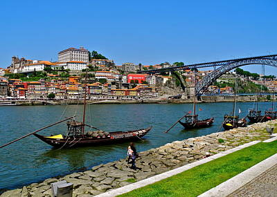 Photograph - Douro River And Wine Boats by Kirsten Giving