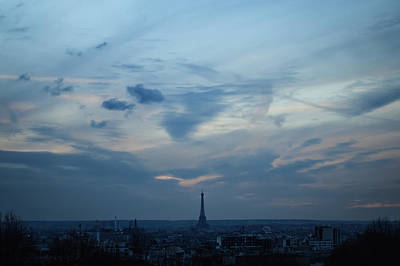 Paris Skyline Royalty-Free and Rights-Managed Images - Dove And Snake by Sebastiano Secondi