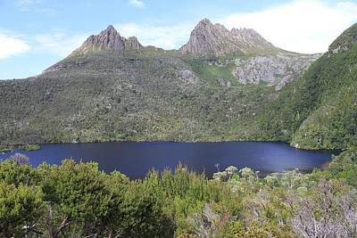 Dove Lake Tasmania All Profits Go To Hospice Of The Calumet Area Art Print