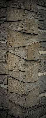 Log Cabins Photograph - Dove Tailed Log Cabin by Paul Freidlund