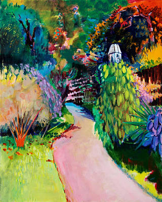 Garden Painting - Dovecote  Exotic by Marco Cazzulini