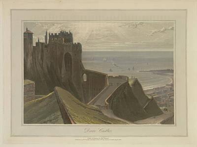 Dover Castle Art Print by British Library