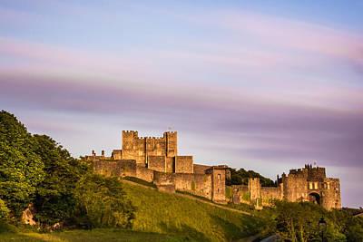 Castle Photograph - Dover Castle Sunset 3 by Ian Hufton