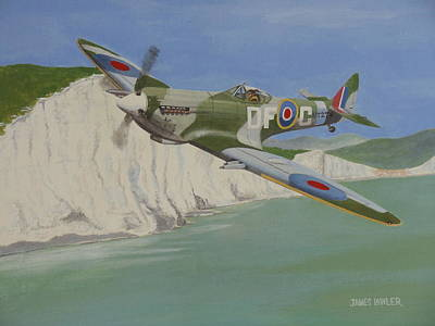 Painting - Dover Patrol by James Lawler