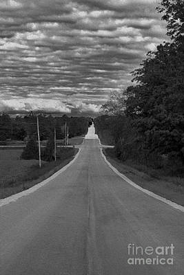 Photograph - Down A Country Road by Nina Silver