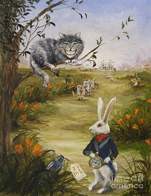 Painting - Down A Rabbit Hole by Stella Violano