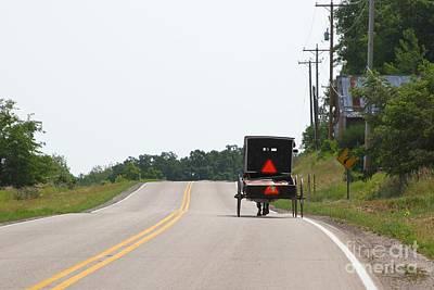 Down A Road Original by Gayle Scheel