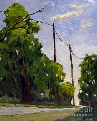 Down Along Daniels Road Original by Charlie Spear