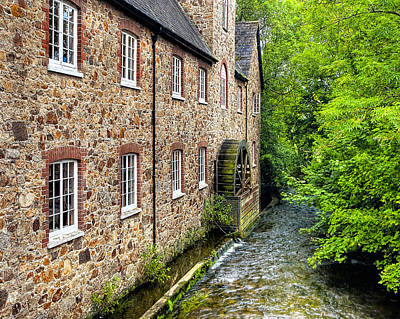 Photograph - Down By The Old Mill In Bovey Tracey by Mark Tisdale