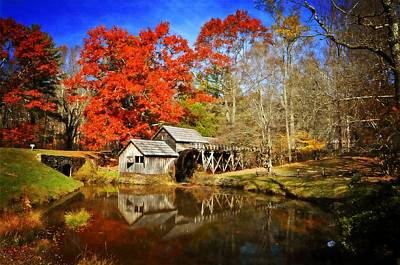 Photograph - Down By The Old Mill Stream  by Lynn Bauer