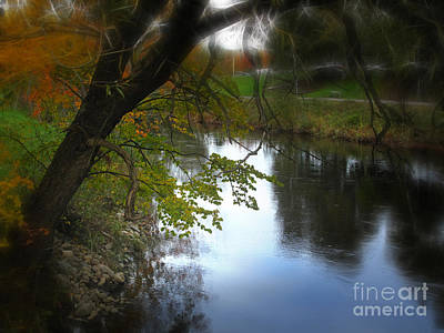 Photograph - Down By The Riverside by Lutz Baar