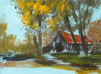Smokey Mountains Painting - Down Home  by Anna Sandhu Ray
