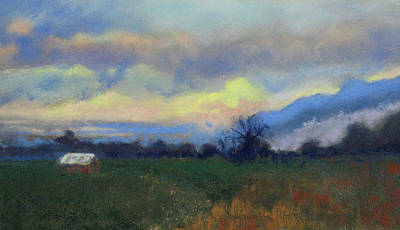 Pastel - Down On The Farm by Lorraine McFarland