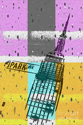 Down Park Av Art Print by Az Jackson