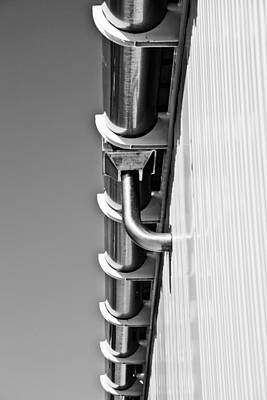 Photograph - Down Pipe by Carole Hinding
