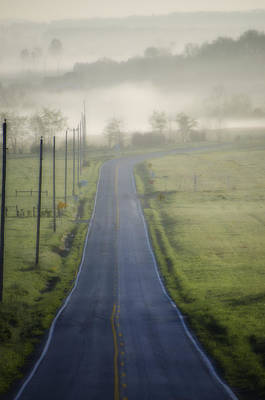 Down Roads Unknown Art Print by Bill Cannon