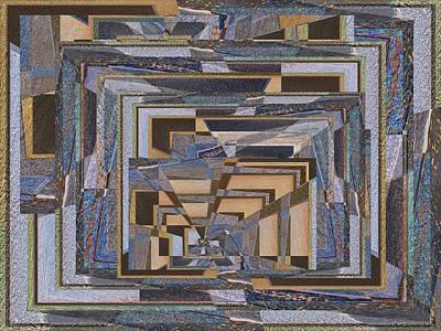 Walkway Digital Art - Down That Path by Tim Allen