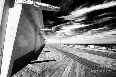 Photograph - Down The Asbury Boardwalk by John Rizzuto