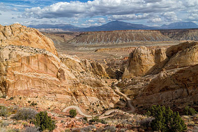 Photograph - Down The Burr Trail by Kathleen Bishop