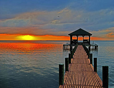 Photograph - Down The Long Dock  by Michael Thomas