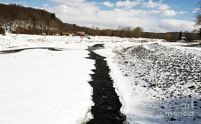 New Paltz Photograph - Down The Middle by John Rizzuto