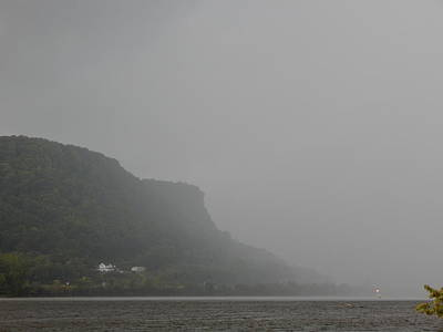 Summer Squall Photograph - Down The River by Wild Thing