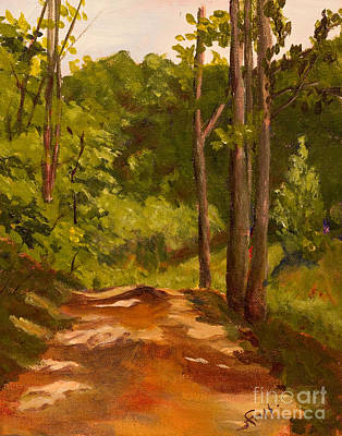 The Red Dirt Road Original by Janet Felts