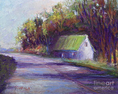 Pastel - Down The Road by Joyce A Guariglia