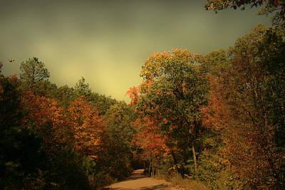 Luminism Photograph - Down The Road by Nina Fosdick