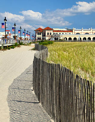 Photograph - Down The Shore by Carolyn Derstine