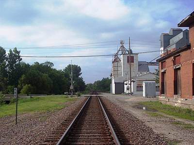 Photograph - Down The Track by The GYPSY